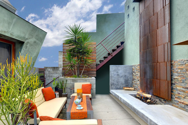 Contemporary Patio by The Architecture Studio,inc