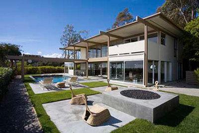 Modern Patio by David Hertz & Studio of Environmental Architecture