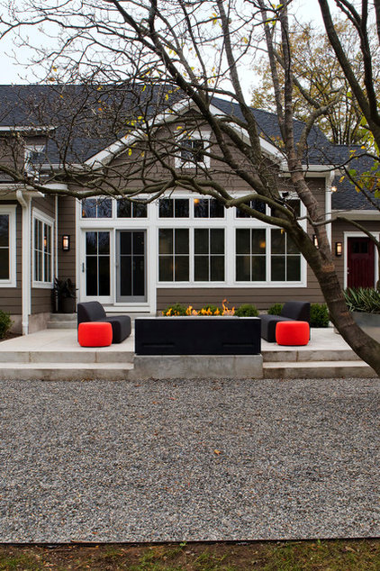 Contemporary Patio by Knight Architects LLC