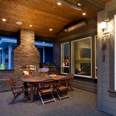 Traditional Patio by Wallmark Custom Homes