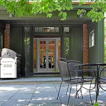 Stunning Sunroom and Grill Porch