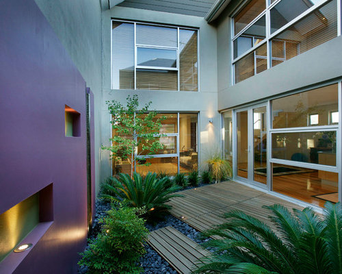Courtyard Home Design Ideas Pictures Remodel And Decor