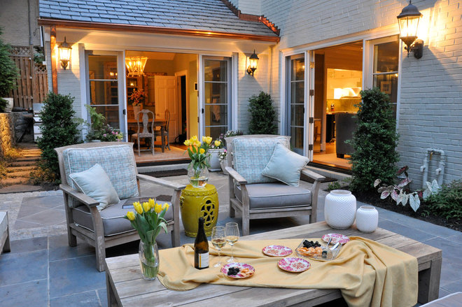 Traditional Patio by CM Glover