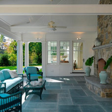 Traditional Patio by Jan Gleysteen Architects, Inc