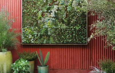 14 idéer för hur du kan dekorera en vägg i trädgården