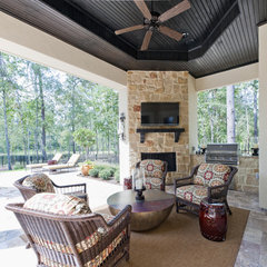 contemporary patio by Sullivan, Henry, Oggero and Associates, Inc.