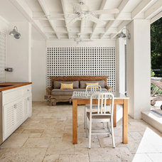 Beach Style Patio by Amy Trowman Design