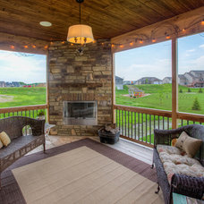 Traditional Patio by Bella Homes