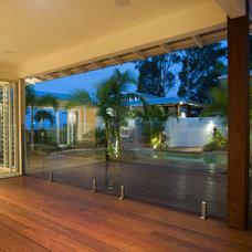 Tropical Patio by SBT Designs