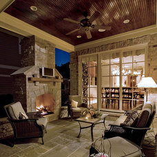 Traditional Patio by Summit Signature Homes, Inc.