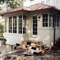Traditional Patio by Cramer Kreski Designs