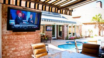 Sunbrite TVs in the Backyard