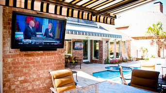Sunbrite TVs in the Backyard