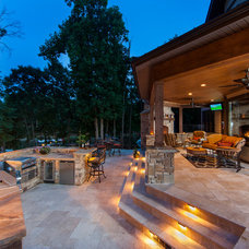 Traditional Patio by Jim Schmid Photography