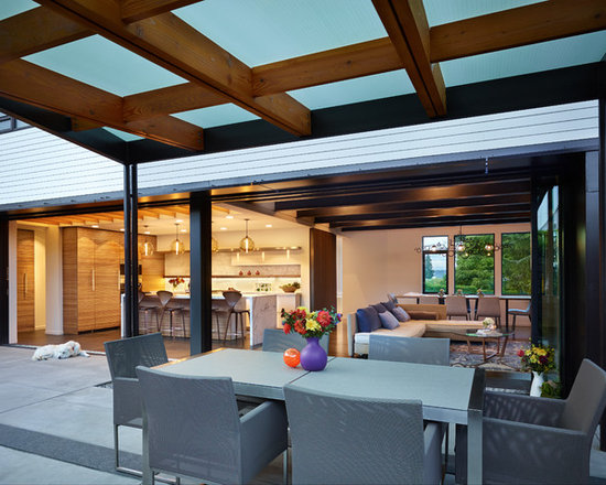 patio cover wood | houzz - Wood Patio Cover Designs