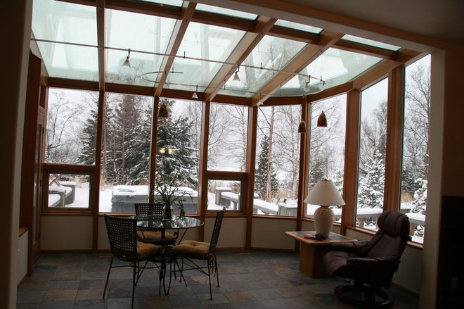 Contemporary Patio by Grayling Construction
