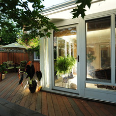 Traditional Patio by Millennium Construction