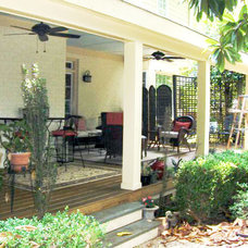 Traditional Patio by Marquis Construction