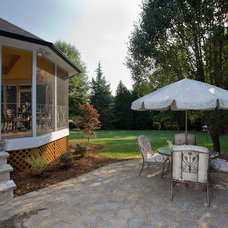 Traditional Patio by Schultz Custom Homes and Remodeling