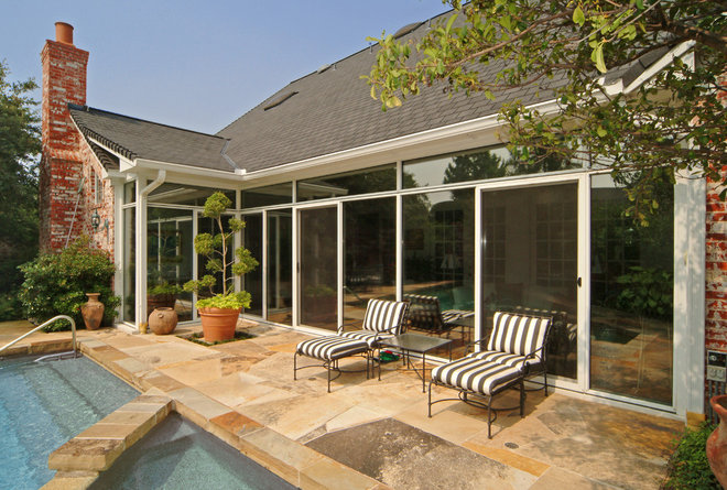 Traditional Patio by Patio Enclosures by Great Day Improvements
