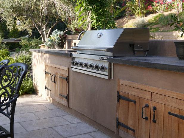 Mediterranean Patio by Sage Outdoor Designs