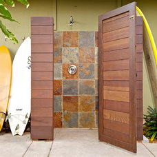 Beach Style Patio by Marrokal Design & Remodeling