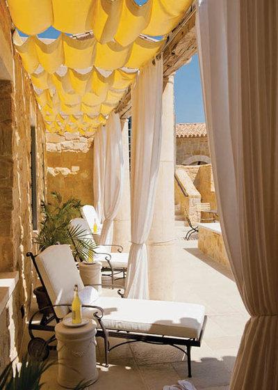 Mediterranean Patio by Housetrends Magazine