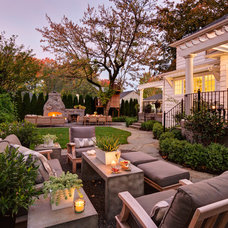Traditional Patio by Nifelle Design - Fine Interiors