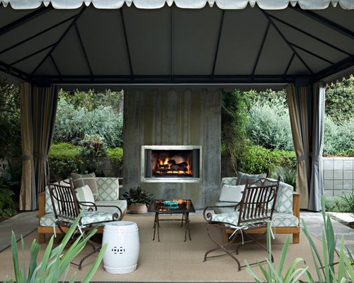 Gazebo Fireplace Houzz
