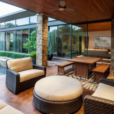 Contemporary Patio by Stocker Hoesterey Montenegro
