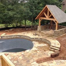 Rustic Patio by Sandals Luxury Pools, Inc.