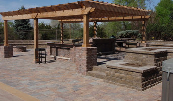 Swimming Pool Deck with Outdoor Kitchen & Pergola -   Lincoln, NE.
