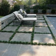 Traditional Patio by Michael Versen & Associates