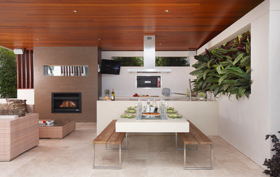 Indoor/Outdoor Kitchens Are Just the Thing for Summer