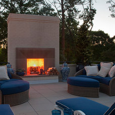 Contemporary Patio by Renaissance Development Corporation