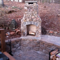Traditional Patio by Outback Deck, Inc.