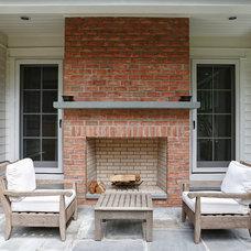 Traditional Patio by DeRosa Builders LLC