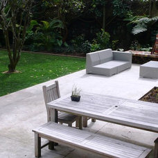 Contemporary Patio by Natural Gardens Limited