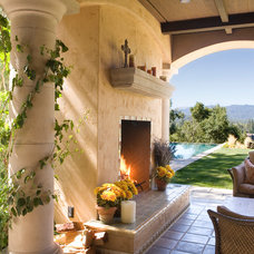 Rustic Patio by Gary J Ahern, AIA - Focal Point Design