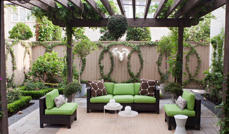 Bring Life to Outdoor Walls With Nature's Green