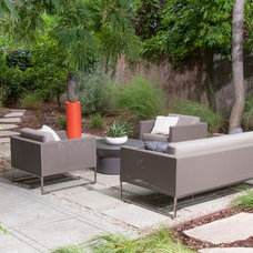 Contemporary Patio by June Scott Design