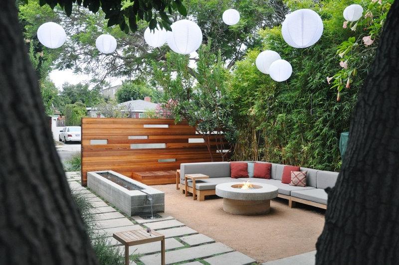 Современный внутренний дворик на MTLA-Марк Тессье ландшафтной архитектуры