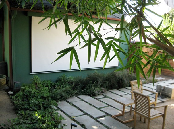 Contemporary Patio by MTLA- Mark Tessier Landscape Architecture