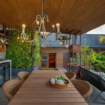Terrace designed by Akriti Saraf