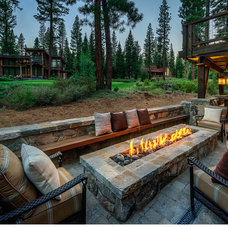 Rustic Patio by Greenwood Homes