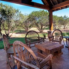 Rustic Patio by Trestlewood