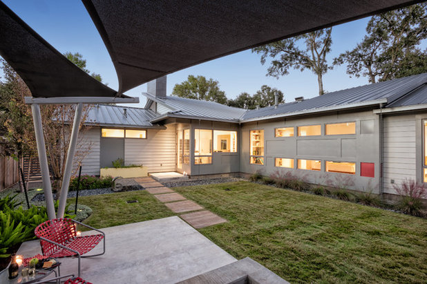 Midcentury Patio by RD Architecture, LLC
