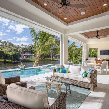 The Abaco - Outdoor Living