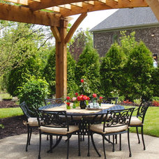 Traditional Patio by Designs on Madison