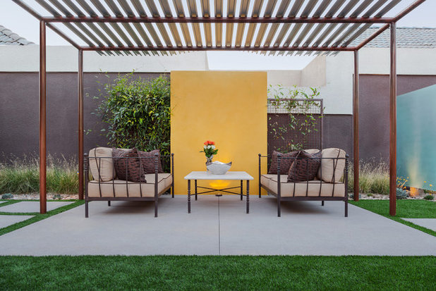 Modern Patio by Coffman Studio